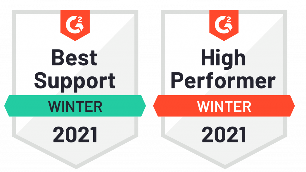 G2 high performer and best support
