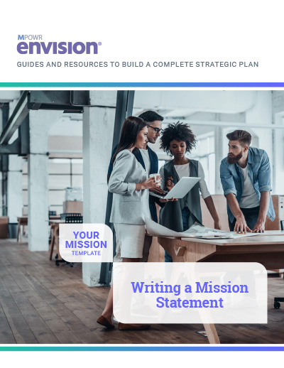 How to write a mission statement. Download the template!