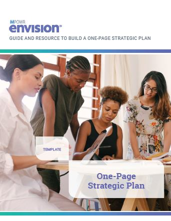 create a one page strategic plan