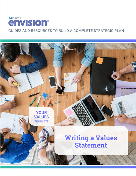 create a value statement - download the template!